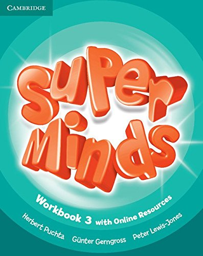 Super Minds 3 WB + Onl Res