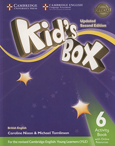 Kids Box 2Ed 6 AB + Online Resources